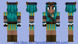 Uma (Descendants 2) [PLZ DIAMOND] Minecraft Skin
