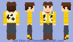 Sheriff Woody Minecraft Skin