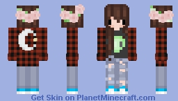 tumblr grunge - chibi Minecraft