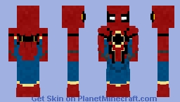 Iron-Spider | Homecoming | Request Minecraft Skin
