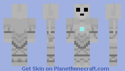 Cyberman (Nightmare in Silver) Minecraft Skin