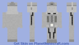 Cyberman (The Moonbase) Minecraft Skin