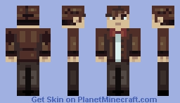 The 11th Doctor Minecraft Skin