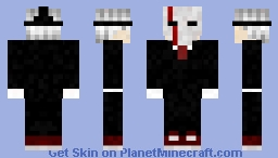 Masked Butler Minecraft Skin