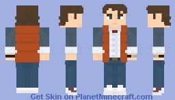 Marty McFly - BTTF 1 Minecraft