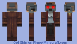 Star-Lord (With Removable Mask) Minecraft Skin