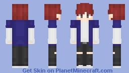 Fire - 불타오르네 Minecraft Skin