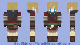 Link - Breath of the wild Hylian set Minecraft Skin