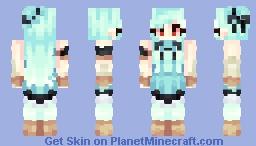 Ninian ~ Fire Emblem ~ Blazing Blade + Req Ninian! Minecraft Skin