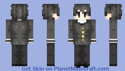 Senpai ~ Yandere Simulator Minecraft Skin