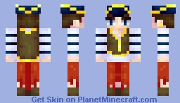 Why do pirates say Arrgh? Minecraft Skin