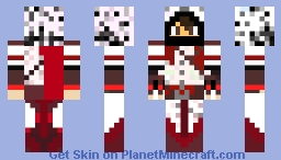 A normal Human skin with an Assassin as top layer Minecraft Skin