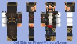 Captain Blackbeard Minecraft Skin