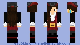 Captain's Daughter Minecraft Skin
