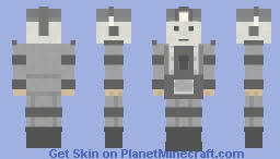 Cyberman (The Tenth Planet) Minecraft Skin