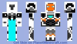 """Iron man MARK 39 """"starboost"""" 3rd skin Minecraft Skin"""