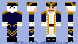 A British Navy Admiral {Pirate's Life-Skin Contest} [Looks better in viewer] Minecraft Skin