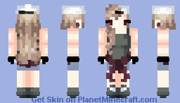 Tomboy {RE SHADE}{I DO NOT OWN PEOPLES} Minecraft Skin