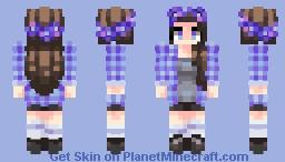 Champ des fleurs Minecraft Skin