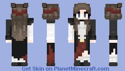 Bow before the great judgement of The Queen of the seven seas! Minecraft Skin