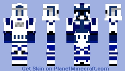 Clone Lieutenant Ferric (623rd Tactical Regiment) Minecraft Skin