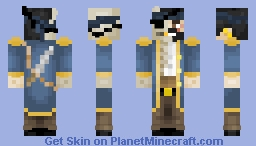 Pirate's Life Contest - The Transformation Minecraft Skin