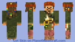 Captain Jack Sparrow from Pirates of the Caribbean Pirate's life skin contest Minecraft Skin