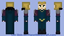 Loki  Thor Ragnarok Minecraft Skin