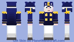 Cap'N Crunch - Cereal (Pirates Life Contest) Minecraft Skin