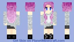 Sweater Girl Minecraft Skin