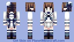 Wadanohara Minecraft Skin