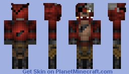 FNAF 2 Witherd Foxy Skin