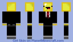 Butter Derp in suit!!! Minecraft Skin