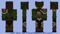 Orc - Zulizarak www.rpg-minecraft.de Minecraft Skin