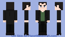Ninth Doctor Minecraft Skin