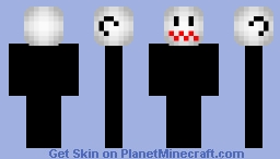 Boo Head - Mario  (Shy/Hiding version in desc.) Minecraft Skin
