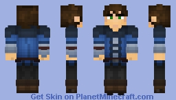 Medieval Middle-Class Commoner [Massivecraft] Minecraft Skin