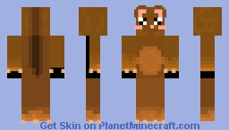 CoCo the Hamster Minecraft Skin