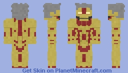 Armoured Titan | AOT Minecraft Skin