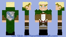 Commander Erwin Smith | AOT Minecraft Skin