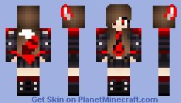 DarkGirl Minecraft Skin