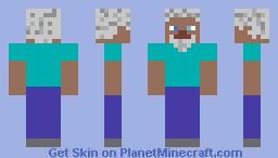 Very Old Man Steve Minecraft Skin