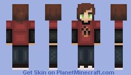 ellie - the last of us Minecraft Skin