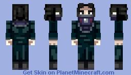 Feitan [Hunter X Hunter] Minecraft Skin
