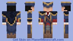 Haytham Kenway Minecraft Skin