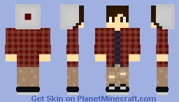 ~ Hipster Guy ~ Autumn ~ Minecraft