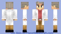 Pokemon - Professor Oak Minecraft Skin