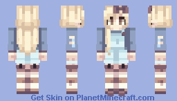 how long is forever? // st with felll Minecraft Skin
