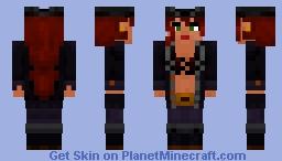 Janet the Pirate Minecraft Skin