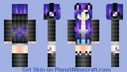 GAMER GIRLLLLLLL Minecraft Skin